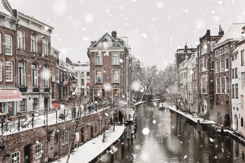 Utrecht in winter