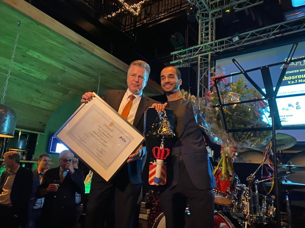 Musjroom is verkozen tot 'Starter van het jaar'.
